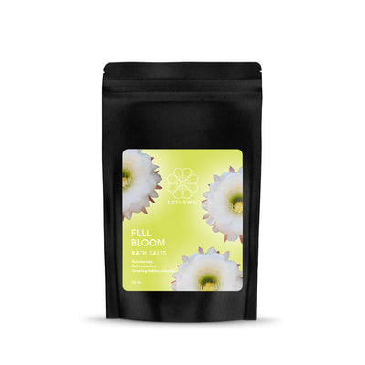 full bloom flower essence bath salt LOTUSWEI FBBS