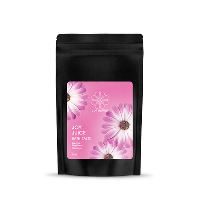 joy juice flower essence bath salts LOTUSWEI E6BSC