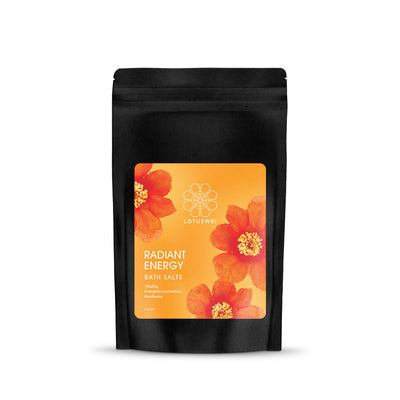 radiant energy flower essence bath salts