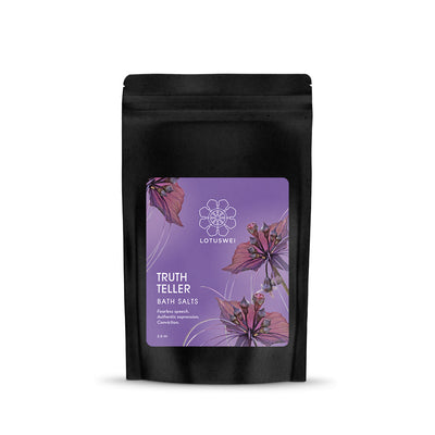 Truthteller Flower Essence Bath Salt LOTUSWEI flower essences