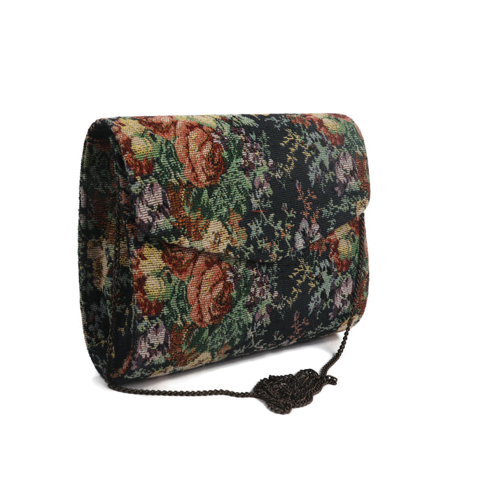 Floral Forest Printed Smart Clutch