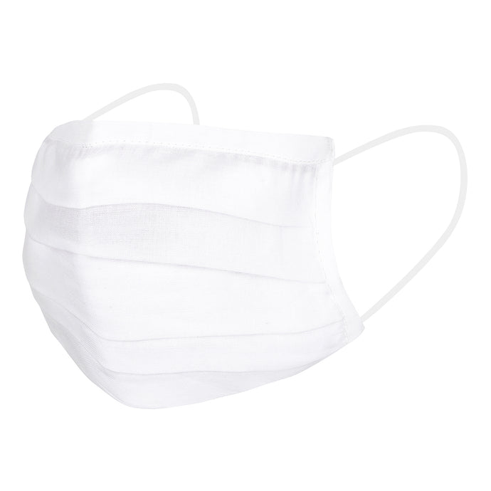 Two White Reusable Masks