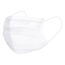 Load image into Gallery viewer, White Cotton Mask (Set of 4)