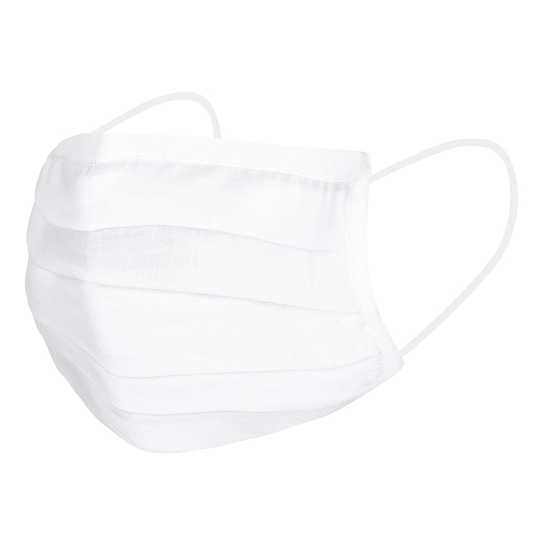 White Cotton Mask (Set of 4)