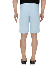 Load image into Gallery viewer, Blue Cotton Shorts