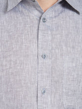 Load image into Gallery viewer, Grey Linen Casual Shirt