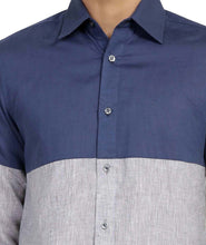 Load image into Gallery viewer, Contrast Linen Shirt