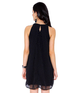 Black Polka Dot Dress.