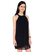 Load image into Gallery viewer, Black Polka Dot Dress.