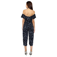 Load image into Gallery viewer, Frilled Printed Jumpsuit