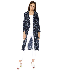 Full Sleeves Printed Coat