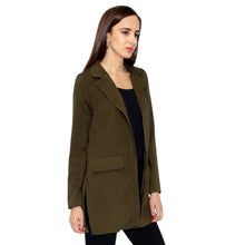 Load image into Gallery viewer, Olive Green Smart Jacket