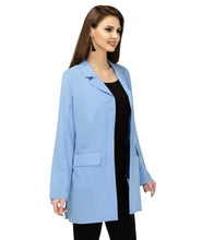 Load image into Gallery viewer, Light Blue Full Sleeves Jacket