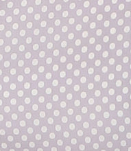 Load image into Gallery viewer, Purple & White Polka Dot Jumpsuit
