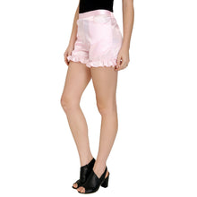 Load image into Gallery viewer, Pink Satin Shorts