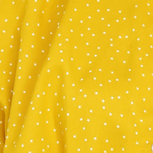 Load image into Gallery viewer, Yellow With White Polka Dots Crop Top