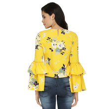 Load image into Gallery viewer, Floral Belle Sleeves Top