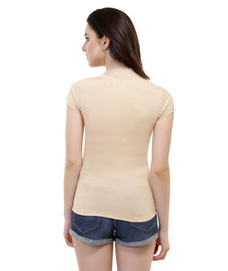 Nude Basic T Shirt