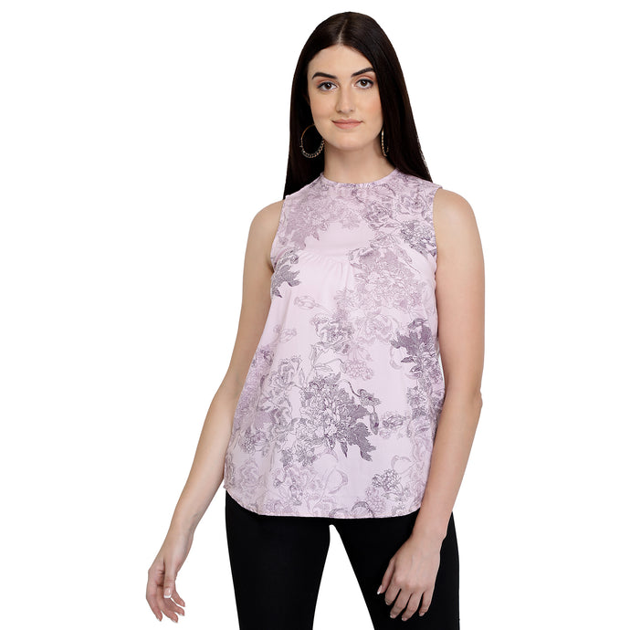 Lilac Grapevine Summer Top