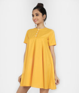 Yellow Summer Day Dress