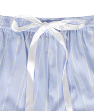 Load image into Gallery viewer, Blue Cotton Striped Shorts