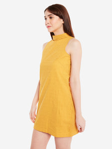 Summer Chifley Cotton Dress