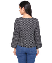 Load image into Gallery viewer, Polka Dotted Crop Top
