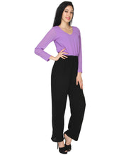 Load image into Gallery viewer, Purple Formal Jumpsuit