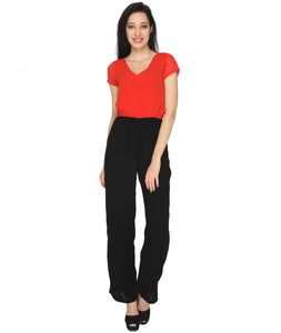 Red Formal Jumpsuit