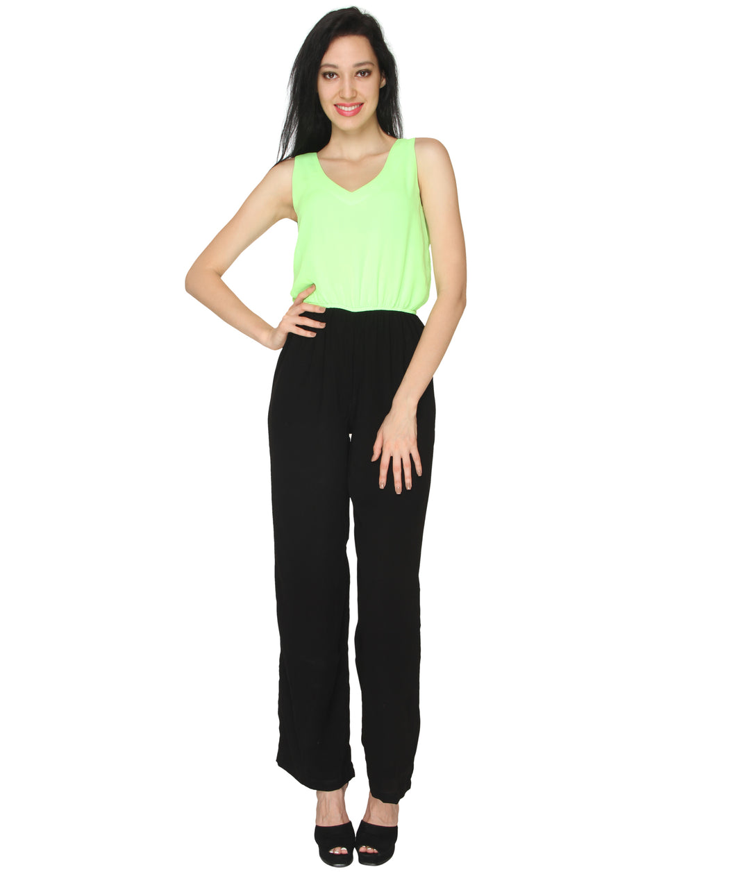 Neon Formal Jumpsuit