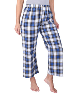 Blue & White Checks Pyjama