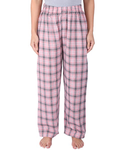Pink & Grey Checked Pyjamas