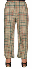 Load image into Gallery viewer, Beige Pyjamas With Green & Pink Checks