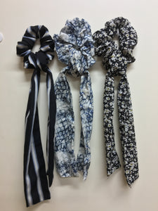 Mix set scrunchies cum bandana