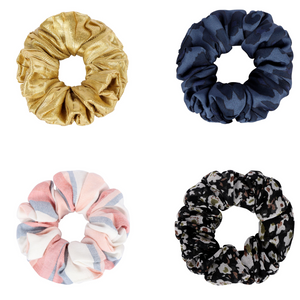 The Every-Occasion Mixed Scrunchy Set <br/> Pack of 4