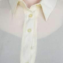Load image into Gallery viewer, Lemon Sheer Maxi Top