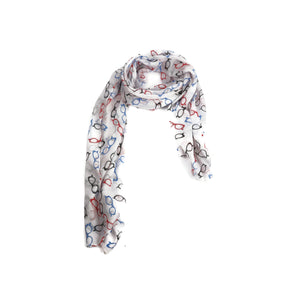 Multicoloured Spectacle Scarf