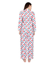 Load image into Gallery viewer, Christmas Printed Nightsuit Set