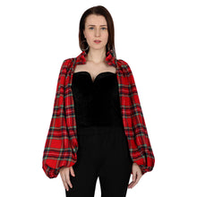 Load image into Gallery viewer, Scottish Statement Sleeved Top