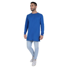 Load image into Gallery viewer, Blue Full Sleeves KurTee