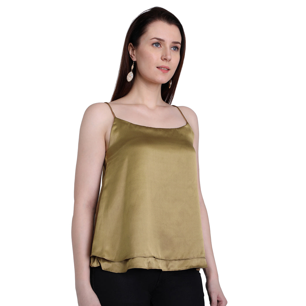 Golden Cami Top