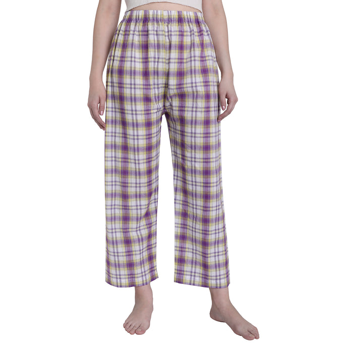 Pretty Purple Checks Pyjamas