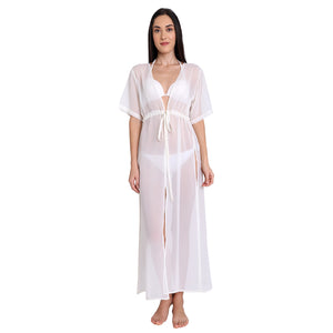 Off White Maxi Cover Up