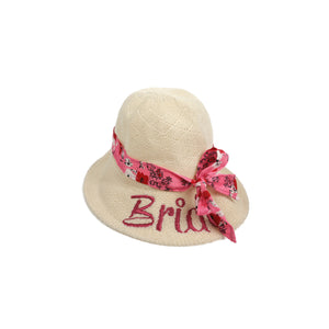 Pink Front Shade Hat