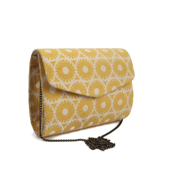Yellow Vibrant Summer Clutch