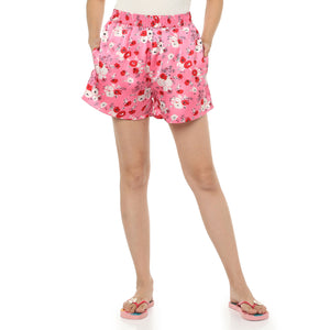 Pretty Pink Satin Shorts