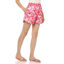 Load image into Gallery viewer, Pretty Pink Satin Shorts