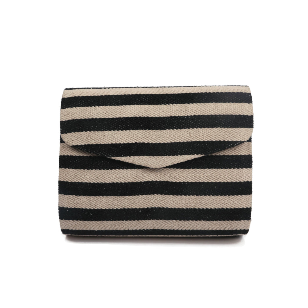 Zebra Stripe Clutch