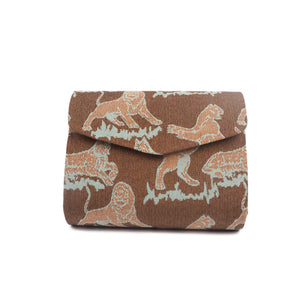 Animal Printed Clutch