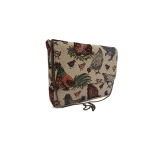 Bird Printed Laptop Sling Bag